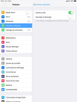 Apple iPad Mini 3 - iOS 12 - Réseau - Activer 4G/LTE - Étape 6