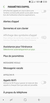 Samsung Galaxy A8 (2018) - Messagerie vocale - Configuration manuelle - Étape 6