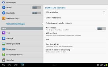 Samsung N8000 Galaxy Note 10-1 - Internet - Manuelle Konfiguration - Schritt 5