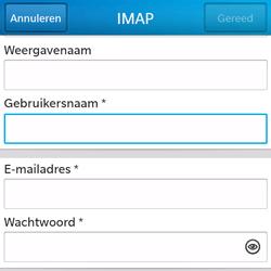BlackBerry Q5 - E-mail - Handmatig instellen - Stap 9