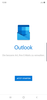 Samsung Galaxy Note 10 - E-Mail - 032c. Email wizard - Outlook - Schritt 5