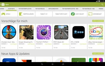 Sony Xperia Tablet Z2 LTE - Apps - Herunterladen - Schritt 5