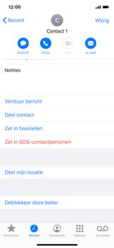 Apple iphone-x-met-ios-13-model-a1901 - Beveiliging en ouderlijk toezicht - Nummer blokkeren - Stap 7