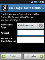 Samsung Galaxy Mini - Apps - Konto anlegen und einrichten - 2 / 2