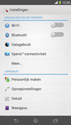 Sony Xperia M2 - bluetooth - aanzetten - stap 4