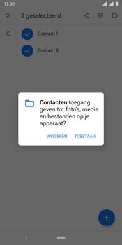 Nokia 9 - Contactgegevens overzetten - delen via Bluetooth - Stap 8