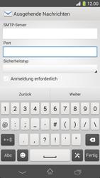 Sony Xperia Z1 Compact - E-Mail - Konto einrichten - 14 / 20