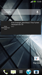 HTC One - Startanleitung - Installieren von Widgets und Apps auf der Startseite - Schritt 8