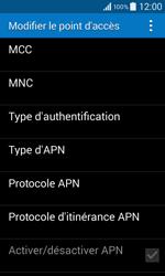 Samsung G355 Galaxy Core 2 - Internet - configuration manuelle - Étape 12