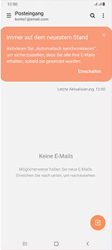 Samsung Galaxy A70 - E-Mail - Manuelle Konfiguration - Schritt 15