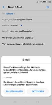 Huawei Mate 10 Lite - E-Mail - E-Mail versenden - 11 / 17