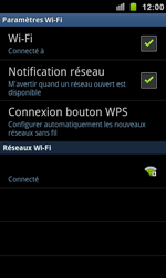 Samsung I9100 Galaxy S II - Wifi - configuration manuelle - Étape 8