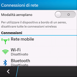 BlackBerry Q10 - Internet e roaming dati - Configurazione manuale - Fase 5