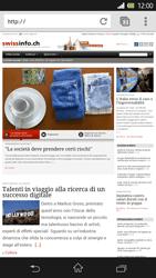 Sony Xperia Z - Internet e roaming dati - Uso di Internet - Fase 15