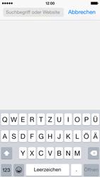 Apple iPhone 5c - iOS 8 - Internet und Datenroaming - Verwenden des Internets - Schritt 4