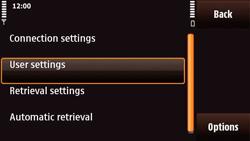 Nokia N97 Mini - E-mail - Manual configuration - Step 28