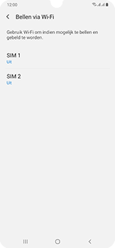 Samsung Galaxy A50 - Bellen - bellen via wifi (VoWifi) - Stap 6