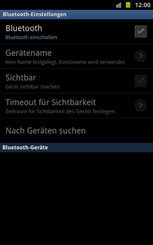 Samsung N7000 Galaxy Note - Bluetooth - Geräte koppeln - Schritt 8