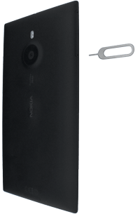 Nokia Lumia 1520 - SIM-Karte - Einlegen - Schritt 2