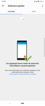 Sony xperia-10-plus - Software update - update installeren zonder PC - Stap 7
