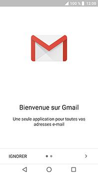Crosscall Trekker X4 - E-mails - Ajouter ou modifier votre compte Gmail - Étape 4