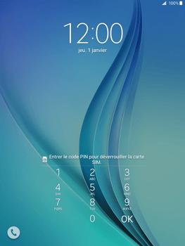 Samsung Galaxy Tab A - Premiers pas - Créer un compte - Étape 2