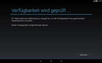 Sony Xperia Tablet Z2 LTE - Apps - Einrichten des App Stores - Schritt 10