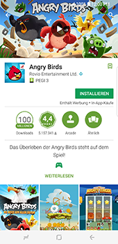 Samsung Galaxy S8 Plus - Apps - Herunterladen - 18 / 20