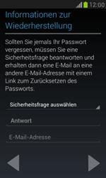 Samsung I8190 Galaxy S3 Mini - Apps - Konto anlegen und einrichten - Schritt 8