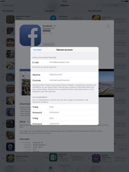 Apple iPad Pro 12.9 inch met iOS9 (Model A1652) - Applicaties - Account aanmaken - Stap 11
