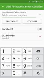 Samsung G925F Galaxy S6 Edge - Anrufe - Anrufe blockieren - Schritt 11