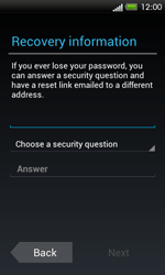 HTC One SV - Applications - Setting up the application store - Step 10