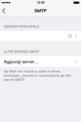 Apple iPhone 4S iOS 7 - E-mail - configurazione manuale - Fase 20