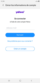 Samsung Galaxy J6 Plus - E-mail - Configurer l