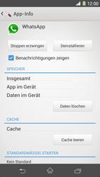 Sony Xperia Z1 - Apps - Eine App deinstallieren - Schritt 6