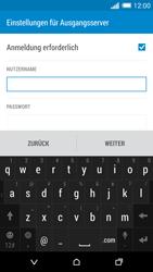 HTC One Mini 2 - E-Mail - Konto einrichten - Schritt 13