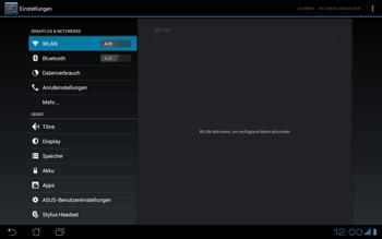 Asus Padfone - Ausland - Im Ausland surfen – Datenroaming - Schritt 3
