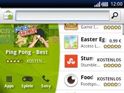 Sony Ericsson Xperia X10 Mini Pro - Apps - Herunterladen - Schritt 17