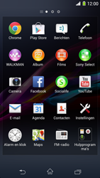 Sony D5503 Xperia Z1 Compact - e-mail - handmatig instellen - stap 3