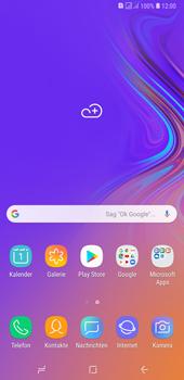 Hard-Reset durchführen | Samsung | Galaxy A7 (2018) - Magenta