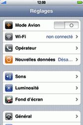 Apple iPhone 3G - MMS - Configuration manuelle - Étape 2