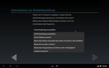 Sony Xperia Tablet Z LTE - Apps - Konto anlegen und einrichten - Schritt 14
