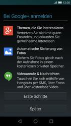 Huawei Ascend G7 - Apps - Konto anlegen und einrichten - Schritt 18