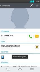 LG G2 - Contact, Appels, SMS/MMS - Ajouter un contact - Étape 11