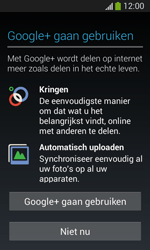 Samsung Galaxy S3 Mini Lite - apps - account instellen - stap 17