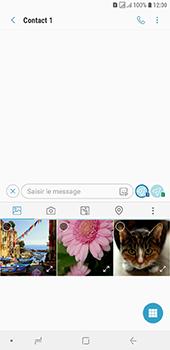 Samsung Galaxy J6 Plus - Contact, Appels, SMS/MMS - Envoyer un MMS - Étape 9