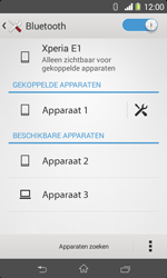 Sony D2005 Xperia E1 - Bluetooth - Koppelen met ander apparaat - Stap 8