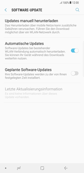 Samsung Galaxy S8 Plus - Android Oreo - Software - Installieren von Software-Updates - Schritt 6