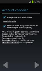 Samsung I9105P Galaxy S II Plus - apps - account instellen - stap 10