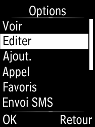 Doro Phone Easy 631 - Contact, Appels, SMS/MMS - Ajouter un contact - Étape 10